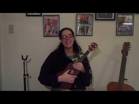 Learning to fly Ukulele tutorial Tom Petty with lyrics