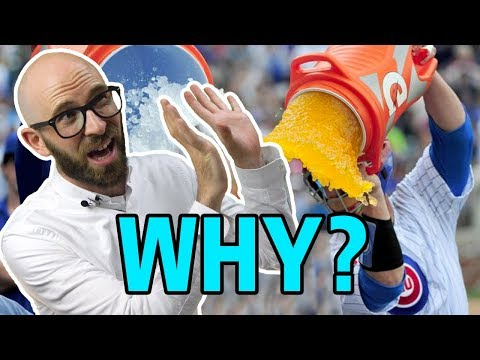 Why Do Athletes Dump Gatorade on Their Coaches (and Who Invented Gatorade)