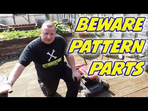 BEWARE   Cheap Pattern Parts  Lawnmower Carb Fail