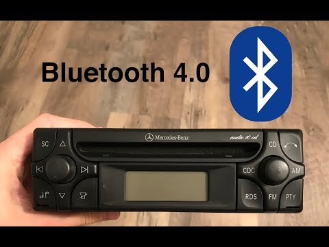 Mercedes-Benz Audio 10 CD - Bluetooth Integration