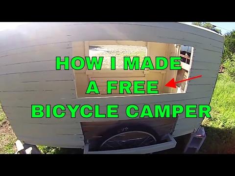 Wooden Camper How i made mine Vlog # 009