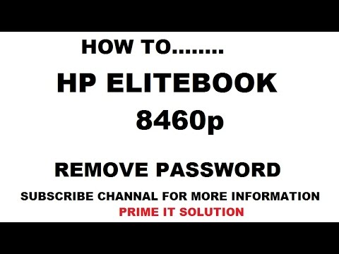 How to Remove hp 8460p Bios password ?easy way to reset bios,how to use HPBR?