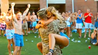MOST EMOTIONAL SOLDIERS COMING HOME COMPILATION