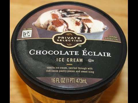 Private Selection: Chocolate Eclair Ice Cream Review