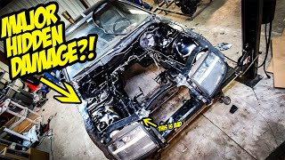 We Found MAJOR HIDDEN DAMAGE On Our 2JZ Nissan 300ZX..And It's Not Good (TOTALED)
