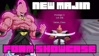 NEW OP MAJIN TRANSFORMATION SHOWCASE! | Dragon Ball Z Final Stand | ROBLOX  - getplaypk