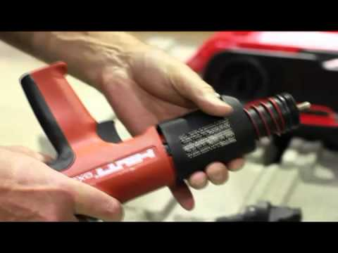 HOW TO replace the piston on your Hilti DX 351