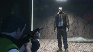 GTA 5 - Niko Bellic Location! (Trevor's Secret Base)