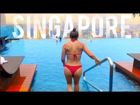 Exploring SINGAPORE (Crossfit, Hawker Chan, Marina Bay Sands Pool)