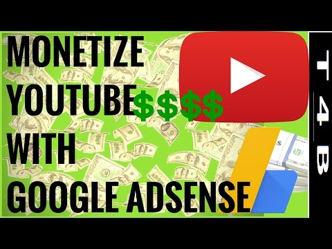 how to Monetize Youtube channel Videos Link with adsense | Monetize Videos - Earn Money From Youtube