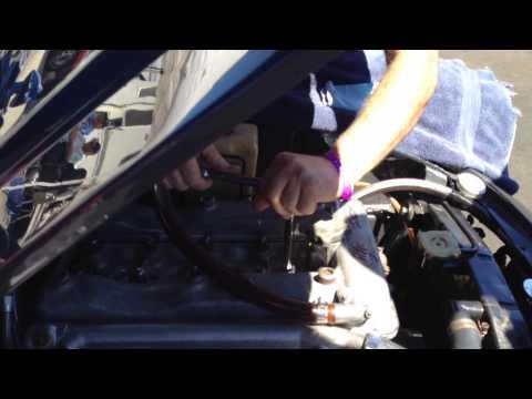 Repairing stripped sparkplug hole