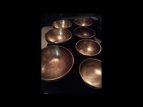 How to check the frequencies of you chakra singing bowls