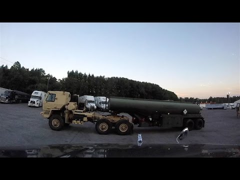 Heavy Haul TV: US Army Rolls into Mt. Airy, NC!