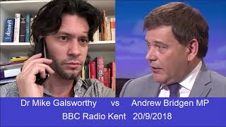 Mike Galsworthy v Andrew Bridgen full debate NHS & Brexit