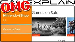 Omg Nintendo Switchs Eshop Adds games On Sale Section