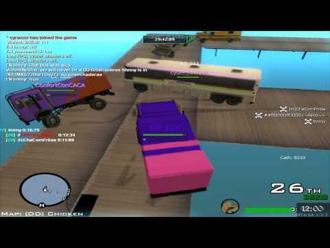 GTA San Andreas | MTA Deathmatch & Destruction Derby | HOW?!?! | #2