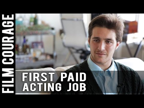 How I Booked My First Paid Acting Job by Chasen Schneider