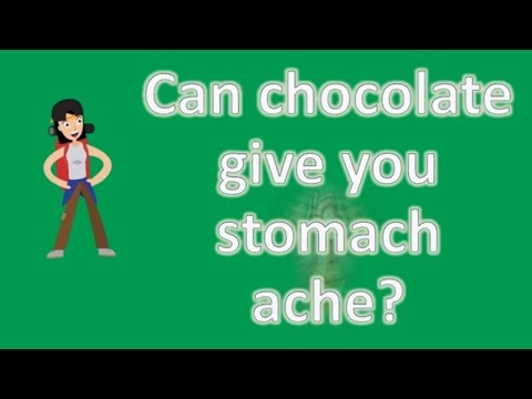 Can chocolate give you stomach ache ? | Best and Top Health FAQs
