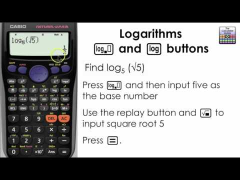 Logarithms. How to find the log of any base on the calculator! (Casio fx-83GT PLUS, fx-85GT)