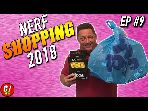 Nerf Shopping 2018 | Toys R Us Nerf Gun Closing Sale | AMMO DAY