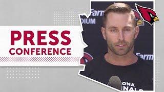 Download Kingsbury talks OTA's, Kyler Murray | Arizona Cardinals Video