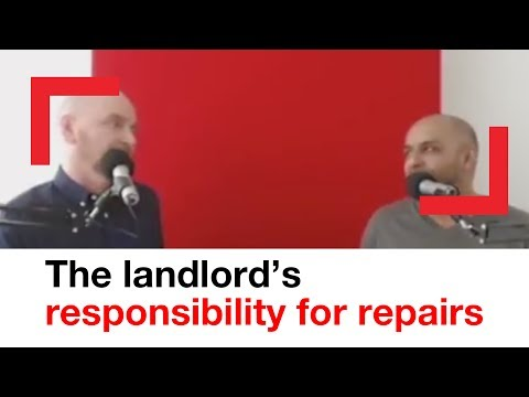 Landlord's responsibility or repairs | housing advice | Shelter
