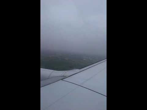 Boeing 737 landing Abort due to Bad weather