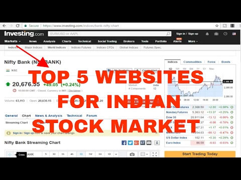 TOP FIVE WEBSITES FOR INDIAN INDIAN STOCK MARKET TO KEEP YOU UP 2 DATE.