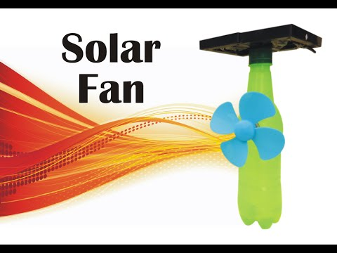 How To Make Small Solar Fan at Home