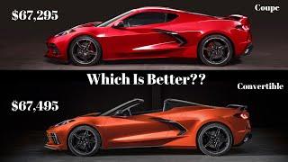 2020 Corvette C8 2LT or Convertible? *Mid Engine Corvette*