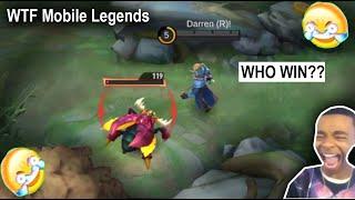 Mobile Legends WTF | Funny Moments Alufeed vs Jungle