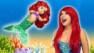 ARIEL'S MERMAID BABY. (Will Ursula Find  Out?) Totally TV