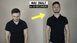 Download 5 metode simple de a arata mai inalt (Cum sa fii mai inalt)