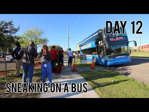 SNEAKING ON A BUS TO ORLANDO, FLORIDA