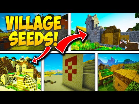5 MINECRAFT VILLAGE SEEDS - Minecraft 1.11 & 1.11.2 Seeds