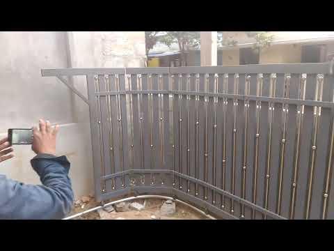 Folding sliding gate palavila engineering works Kuttichira kollam mobile 919496081362