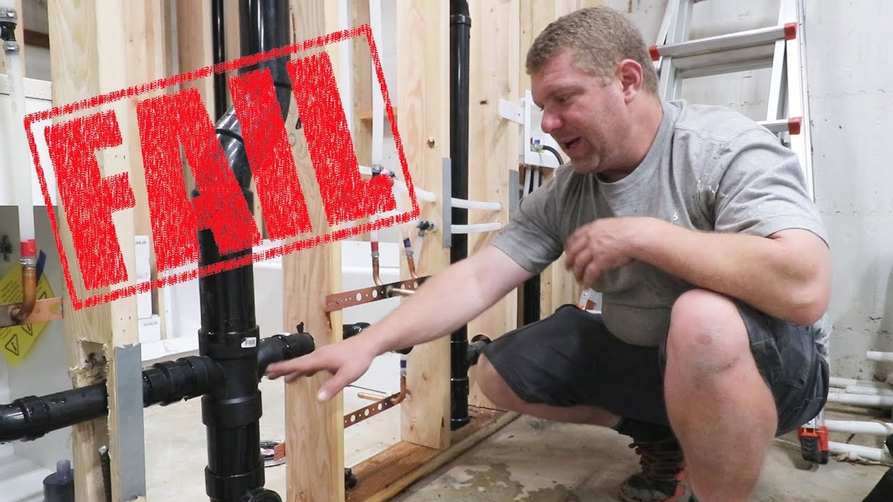 FAILED Plumbing Inspection! How Badly Did We Screw Up?