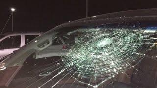 Baseball Player Hits Grand Slam But Ball Shockingly Smashes His Truck Windshield