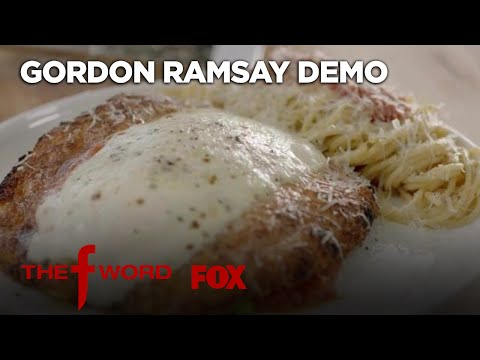 Gordon Ramsay Demonstrates How To Make The Perfect Chicken Parmesan   Season 1 Ep. 3   THE F WORD