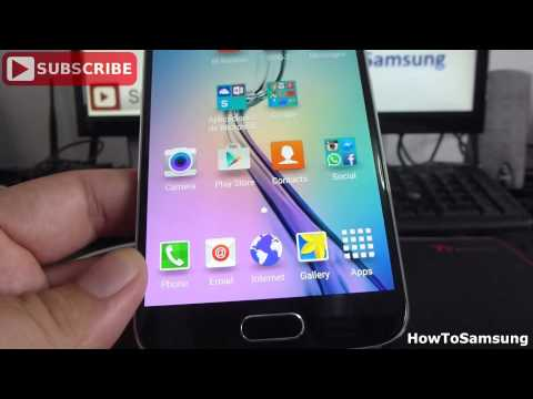 How to Customize Your Samsung Galaxy S6 Basic Tutorials