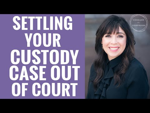 The Risk of NOT Settling a Child Custody Case Out of Court