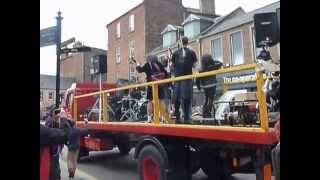 It's a Long Way to the Top Video shoot - Buon Scotch Bon Fest 2013 - AC/DC Tribute in Kirriemuir