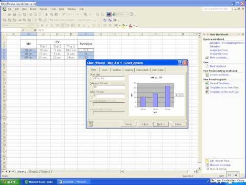 Excel 2003 - Tutorial #3