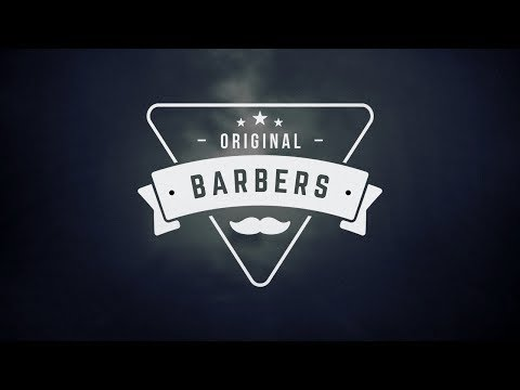 Illustrator Tutorial | Barber Hipster Logo