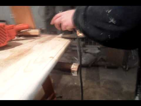 HOW TO ROUTER BASEBOARD TRIM