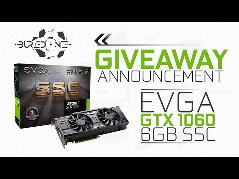 GTX 1060 6GB Giveaway Announcement! ʟᴇᴛ ᴛʜᴇ ɢᴀᴍᴇs ʙᴇɢɪɴ.