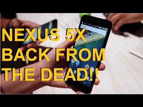Repair your DEAD LG NEXUS 5X! No Boot, No Loop, Blank Screen, No Red Led  SIEPONLINE 