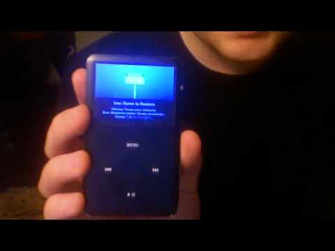 iPod Classic stuck in recovery mode...  Help!