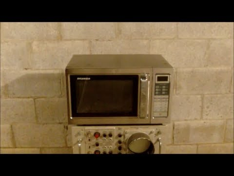 Generator Built from one Microwave Oven (Macgyvered)
