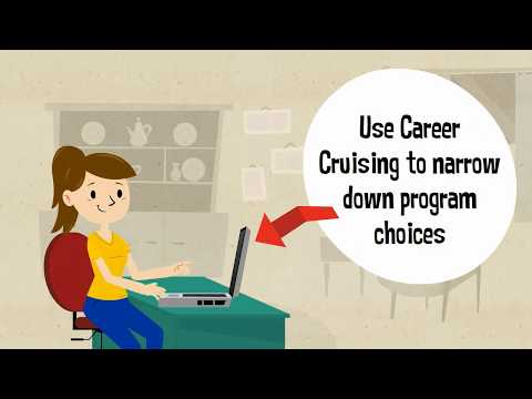 Using Career Cruising to Choose a College Program